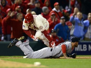 game 3 obstruction call