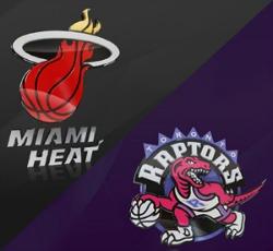 heat vs raptors