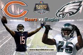 bears vs eagles