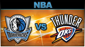thunder vs mavericks