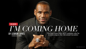 lebron james return to cleveland