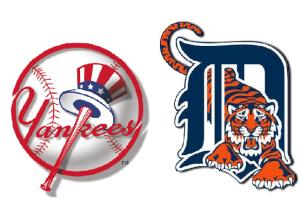 tigers vs yankees